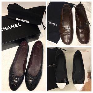 CHABEL FLATS X 3